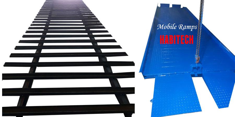 Cấu Tạo Khung Thép & Sơn Hoàn Thiện Cầu Lên Container Habitech Ramp Dock