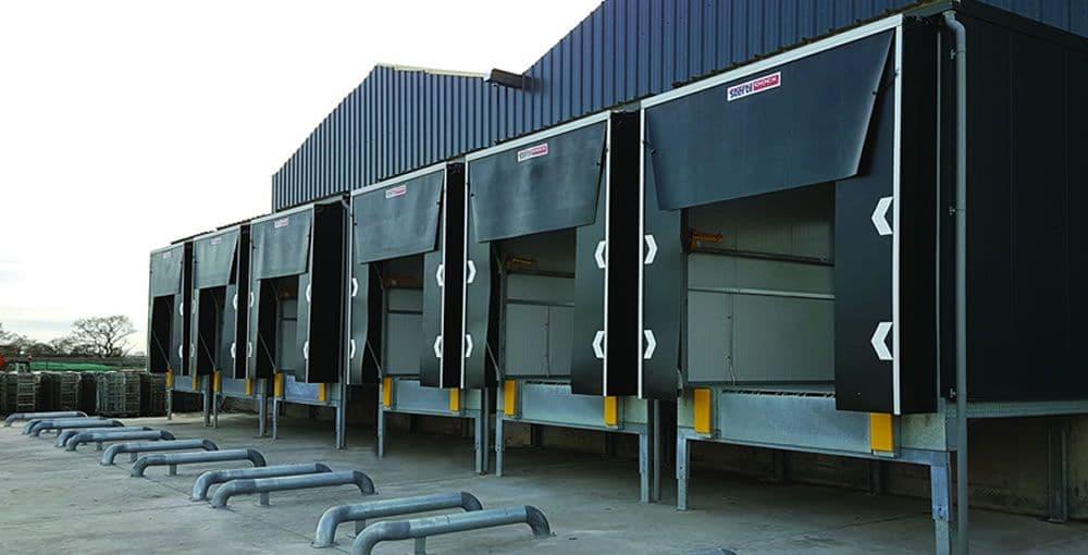 Hệ thống dock house cho cửa xuất nhập hàng